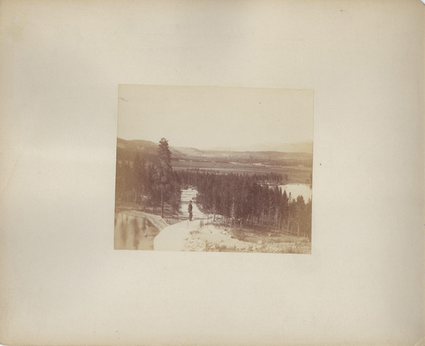 Vintage Aspen Mining Claim Maps and Photographs - View in Turtelotte Park border=
