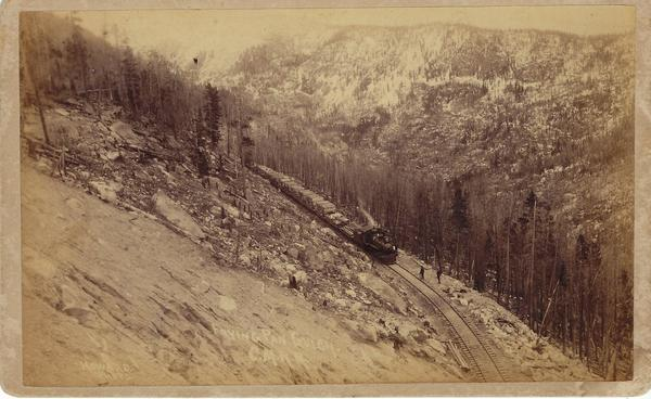 Vintage Aspen Mining Claim Maps and Photographs - Hell's Gate in Frying Pan Gulch, Colorado Midland Railroad border=