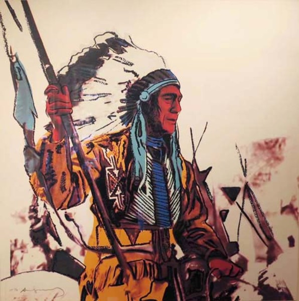 Andy Warhol - War Bonnet border=