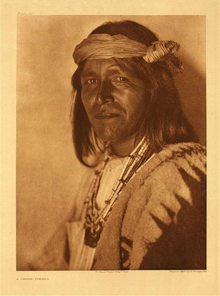 Edward S. Curtis - Plate 552 A Jemez Fiscal border=