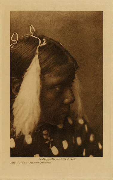 Edward S. Curtis - Red Cloud's Granddaughter, Vol. III border=