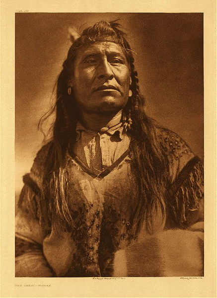 Edward S. Curtis -   Plate 200 New Chest - Piegan border=