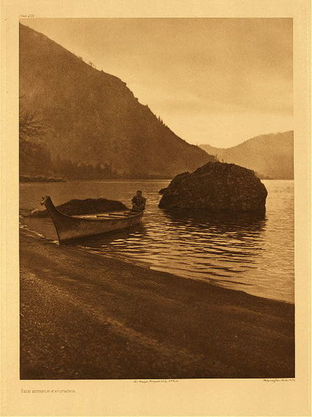 Edward S. Curtis -   Plate 288 The Middle Columbia border=