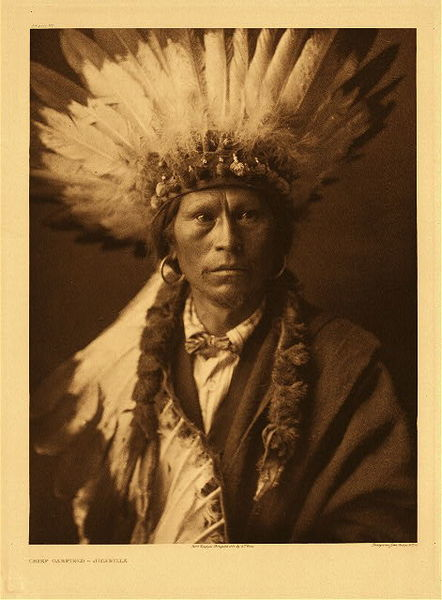 Edward S. Curtis - Plate 021 Chief Garfield border=
