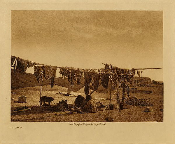 Edward S. Curtis - In Camp border=