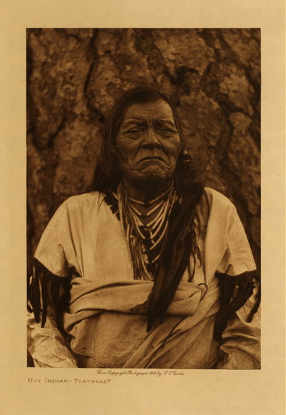Edward S. Curtis - Not Indian - Flathead border=