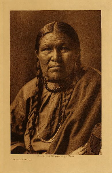 Edward S. Curtis - Cheyenne Woman border=