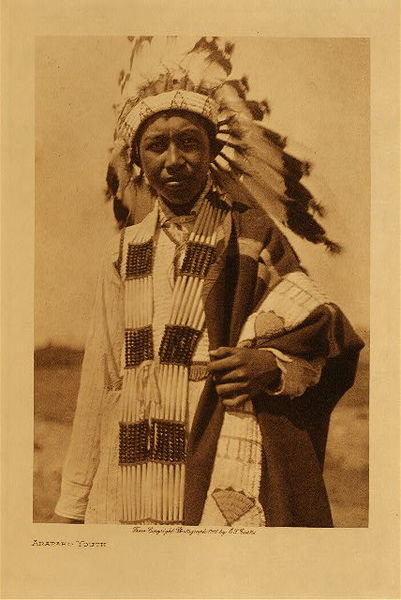 Edward S. Curtis - Arapaho Youth border=