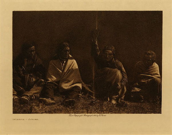 Edward S. Curtis - Incense - Atsina border=