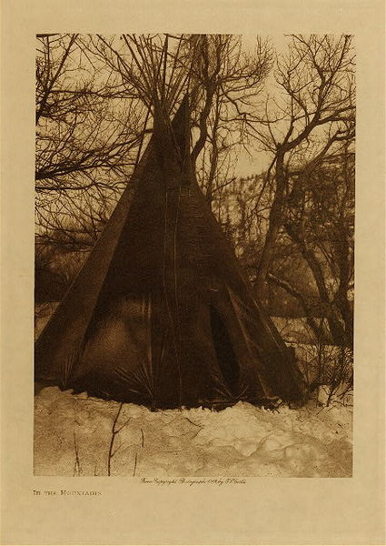 Edward S. Curtis - In the Mountains border=