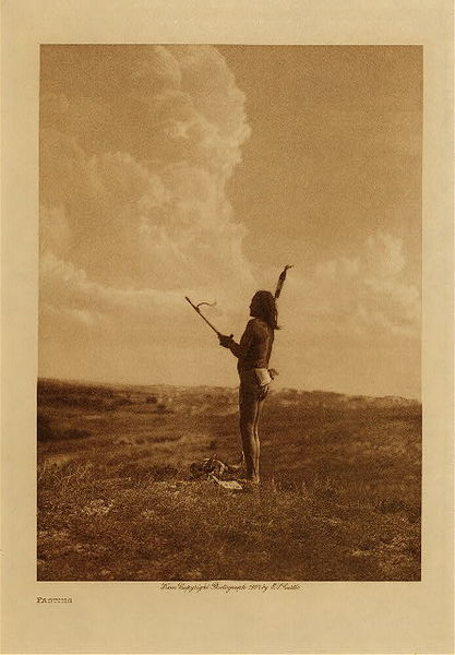 Edward S. Curtis - Fasting border=