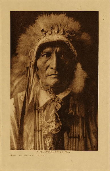 Edward S. Curtis - Standing Bear - Ogalala border=