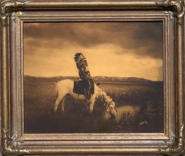 Edward S. Curtis - Oasis In The Bad Lands border=