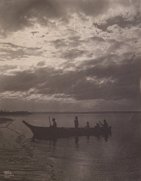 Edward S. Curtis - Shores of Puget Sound border=