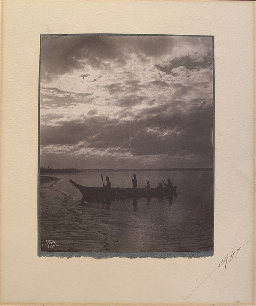 Edward S. Curtis - Shores of Puget Sound