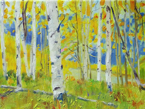 Michael Charron - Castle Creek Aspen Stand border=