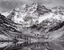 Ansel Adams - Maroon Bells, Near Aspen, Colorado