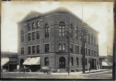 Title: Wheeler Opera House , Date: c. 1904 , Size: 5 x 7 inches , Medium: Silver Gelatin Photograph , Edition: Vintage