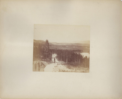 Title: View in Turtelotte Park , Date: 1889 , Size: 8 x 10 inches , Medium: Albumen Photograph , Edition: Vintage