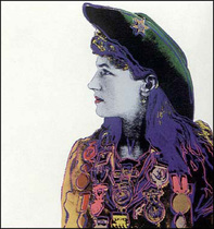 Title: Annie Oakley , Date: 1986 , Size: 36 x 36 inches , Medium: Screenprint on Lenox Museum Board , Signed: L/L , Edition: 250