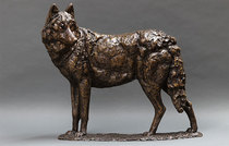 Title: Tribute to the Gray Wolf , Size: 24
