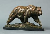 Title: The Menace (Grizzly Bear) , Size: 12 1/2