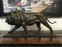 Title: Undaunted , Size: 17 1/2 x 8 x 39 inches , Medium: Bronze , Signed: Signed , Edition: of 16