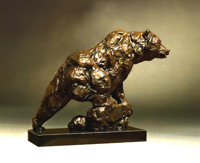 Title: Trouble Maker , Size: 21.5 x 27 x 9 inches , Medium: Bronze , Signed: Signed , Edition: 6/35