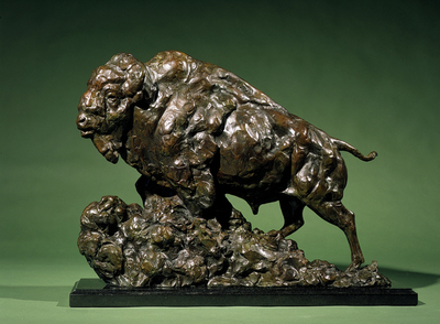Title: Trailmaker , Size: 18 x 8 1/2 x 24 , Medium: Bronze , Signed: Signed , Edition: 20/35
