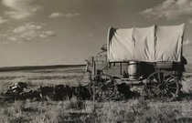 Title: Chuck Wagon , Size: 13 x 19 3/8 inches , Medium: Silver Gelatin Photograph , Signed: Signed , Edition: 5/125