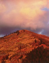 Title: Fiery Mountain Sunset, Utah , Size: 40 x 30 inches , Medium: Cibachrome Photograph , Signed: L/R , Edition: #6