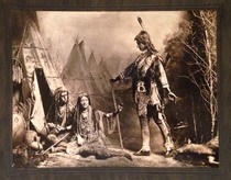 D.F. Barry - Hiawatha Appearing From the Woodlands