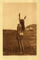 Title:   Plate 083 The Sun Dancer , Date: 1907 , Size: Portfolio, 22 x 18 inches , Medium: Vintage Photogravure , Edition: Vintage