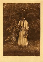 Title:   Plate 246 Nespilim Girl , Date: 1905 , Size: Portfolio, 22 x 18 inches , Medium: Vintage Photogravure , Edition: Vintage