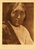 Title:   Plate 549 An Isleta Man , Date: 1925 , Size: Portfolio, 22 x 18 inches , Medium: Vintage Photogravure , Edition: Vintage