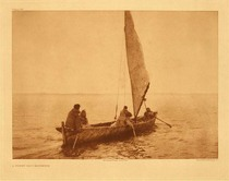Title:   Plate 711  A Foggy Day - Kotzebue , Date: 1928 , Size: Portfolio, 18 x 22 inches , Medium: Vintage Photogravure , Edition: Vintage