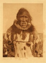 Title:   Plate 721  Charlie Wood - Kobuk , Date: 1928 , Size: Portfolio, 22 x 18 inches , Medium: Vintage Photogravure , Edition: Vintage