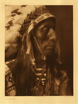 Title: Plate 081 Jack Red Cloud , Date: 1907 , Size: Portfolio, 22 x 18 inches , Medium: Vintage Photogravure