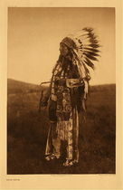Title: Plate 087 High Hawk , Date: 1907 , Size: 22 x 18 inches , Medium: Vintage Photogravure