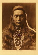 Title:   Plate 264 Lawyer - Nez Perce, 1905 , Size: Portfolio, 22 x 18 inches , Medium: Vintage Photogravure , Edition: Vintage