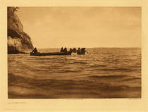 Title:   Plate 286 The Lower Columbia , Date: 1910 , Size: Portfolio, 18 x 22 inches , Medium: Vintage Photogravure , Edition: Vintage