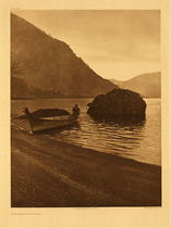 Title:   Plate 288 The Middle Columbia , Date: 1910 , Size: Portfolio, 22 x 18 inches , Medium: Vintage Photogravure , Edition: Vintage