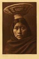 Title:   Plate 053 Luzi - Papago , Date: 1907 , Size: Portfolio, 22 x 18 inches , Medium: Vintage Photogravure , Edition: Vintage