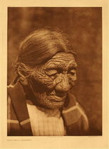 Title: Plate 671 Black Belly - Cheyenne , Date: 1925 , Size: Portfolio, 22 x 18 inches , Medium: Vintage Photogravure , Edition: Vintage