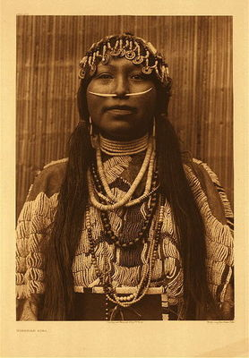 Title:   Plate 278 Wishham Girl , Date: 1910 , Size: Portfolio, 22 x 18 inches , Medium: Vintage Photogravure , Edition: Vintage
