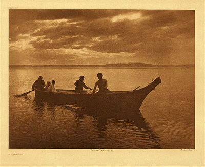 Title: Plate 318 Homeward , Date: 1898 , Size: Portfolio, 18 x 22 inches , Medium: Vintage Photogravure