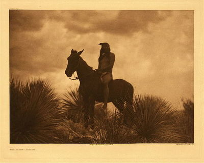 Title: Plate 013 The Scout-Apache , Size: Portfolio, 18 x 22 inches