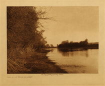 Title: Home of the Water Monster , Date: 1908 , Size: Volume, 9.5 x 12.5 inches , Medium: Vintage Photogravure , Edition: Vintage