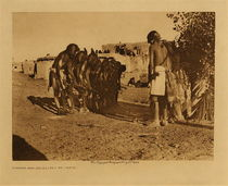 Title: Snakes and Antelopes at Oraibi , Date: 1922 , Size: Volume, 9.5 x 12.5 inches , Medium: Vintage Photogravure , Edition: Vintage
