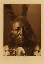 Title: Ring Thunder - Brule , Date: 1907 , Size: Volume, 12.5 x 9.5 inches , Medium: Vintage Photogravure , Edition: Vintage